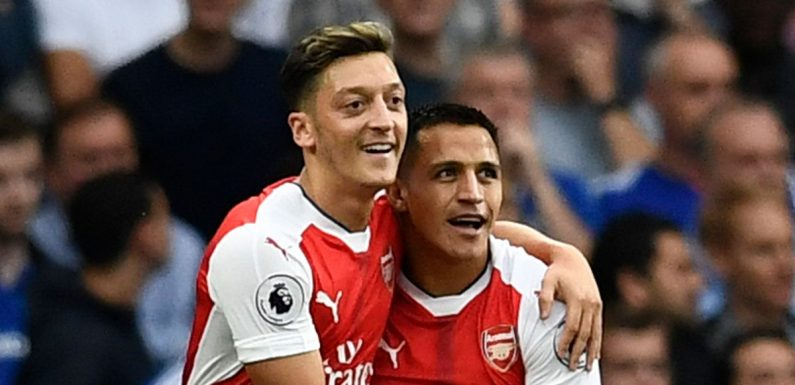 Mesut Ozil names the strongest Arsenal XI of players he played with