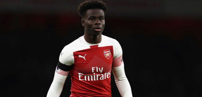 Bukayo Saka left Unai Emery dazzled on Arsenal debut – without touching the ball