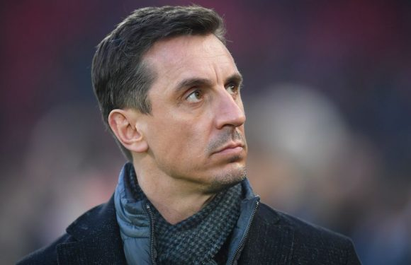 Gary Neville's combined Liverpool and Man Utd XI includes four Red Devils stars