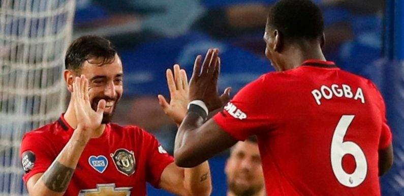 Paul Pogba's advice to Bruno Fernandes upon his Man Utd arrival last year
