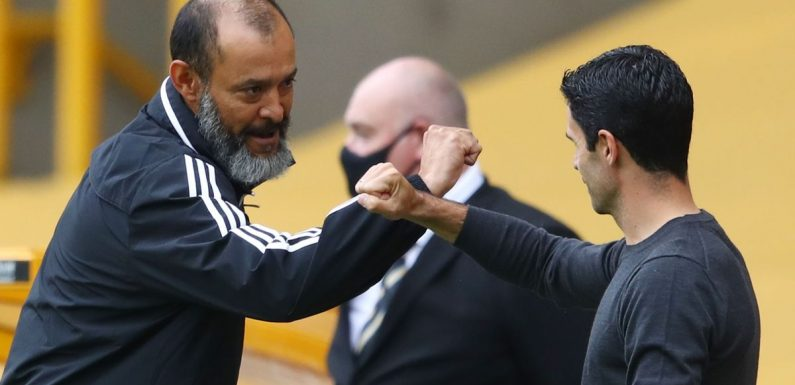 Arsenal 'held talks with Nuno Espirito Santo's agent' when Arteta neared sack