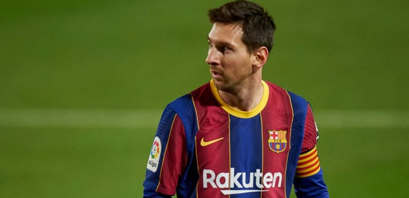 Lionel Messi is now free to open negotiations over transfer away from Barcelona