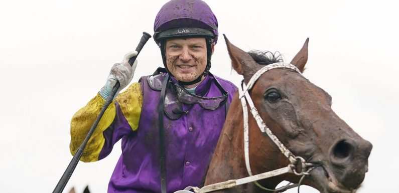 Jockey addicted to meth and beaten by dealer battles back to win 500th race