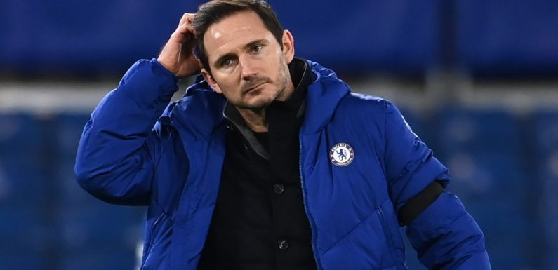 Frank Lampard mocked over 'leaked Chelsea tactics' before Man City loss
