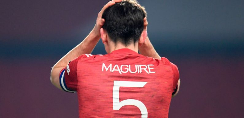 Man Utd's Harry Maguire must tread carefully vs Burnley to avoid Liverpool ban