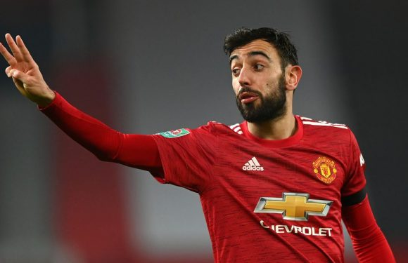 Mind-blowing Bruno Fernandes stat will worry Liverpool ahead of Man Utd clash
