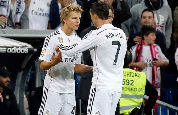 Ronaldo's verdict on Odegaard after loan move to Arsenal officially confirmed