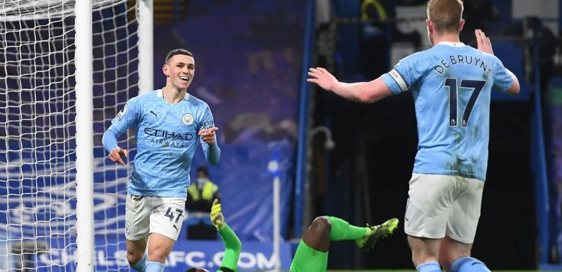 Winners and losers as Chelsea beaten by Man City after Foden and De Bruyne show
