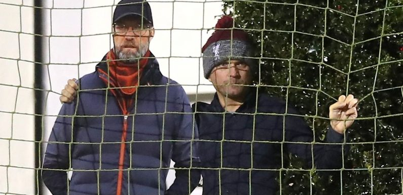 Jurgen Klopp 'spies' on Tottenham's game at Marine over fences from nearby house
