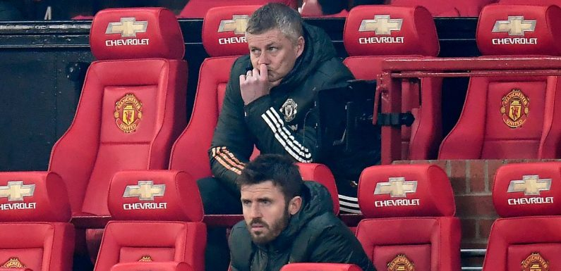 Man Utd suffer Covid-19 scares as Michael Carrick joins player in self-isolating