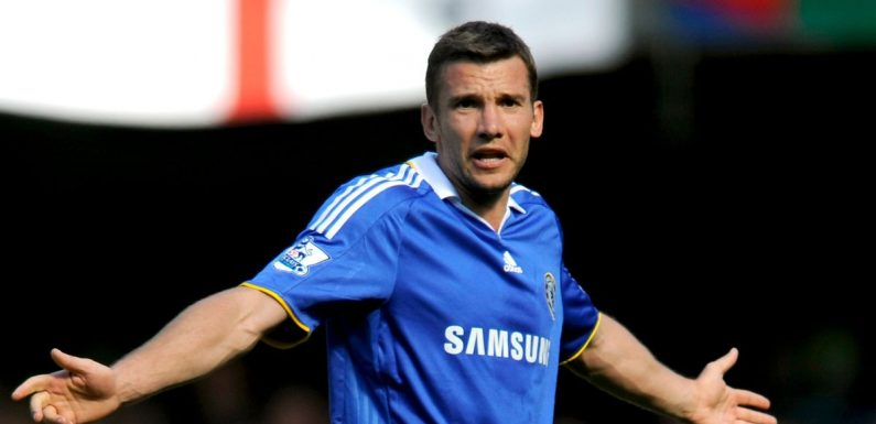 Roman Abramovich considering Chelsea flop Shevchenko as Lampard's replacement