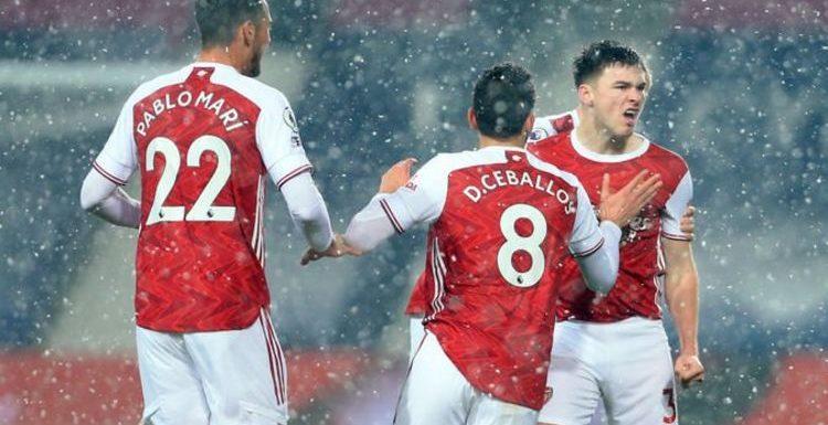 Kieran Tierney shares joke Arsenal players made after stunning goal vs West Brom