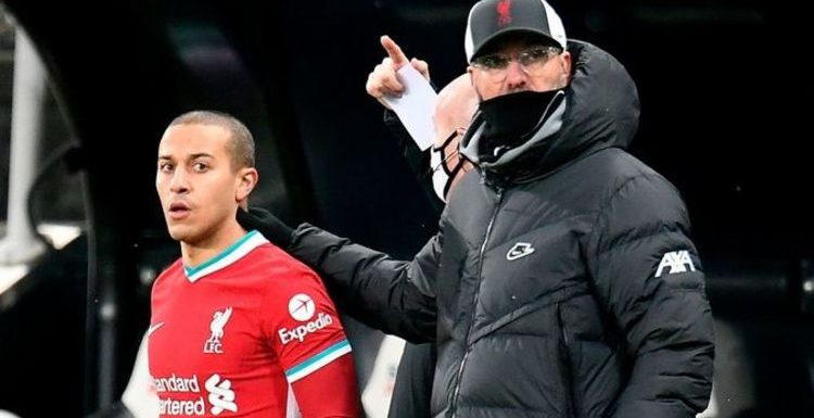 Liverpool team news: Expected 4-3-3 line up vs Southampton as Thiago one of two changes