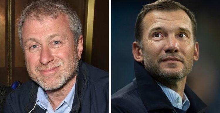 Chelsea owner Roman Abramovich 'considers Andriy Shevchenko' as surprise Lampard successor