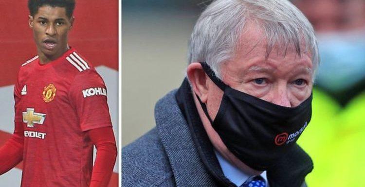 Manchester United legend Sir Alex Ferguson gives VAR verdict and hails Marcus Rashford