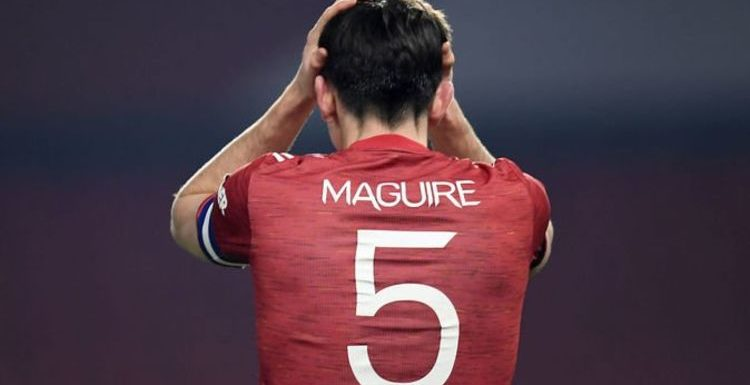 Man Utd fans slam Harry Maguire's involvement for Man City goal in Carabao Cup clash