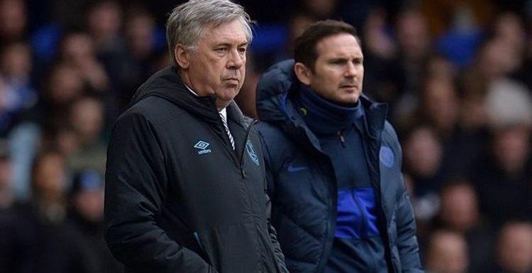 Everton boss Carlo Ancelotti weighs in on Roman Abramovich's Frank Lampard sack dilemma