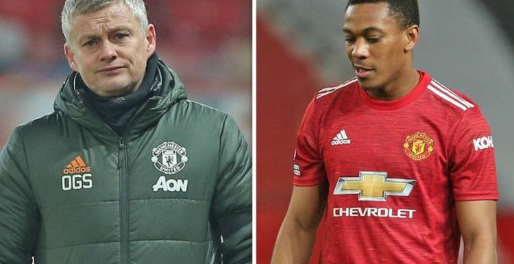 Man Utd boss Ole Gunnar Solskjaer's words after Man City loss are bad for Anthony Martial