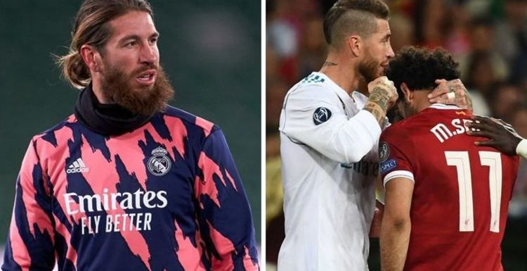 Liverpool 'make Real Madrid star Sergio Ramos transfer target' despite Mohamed Salah feud
