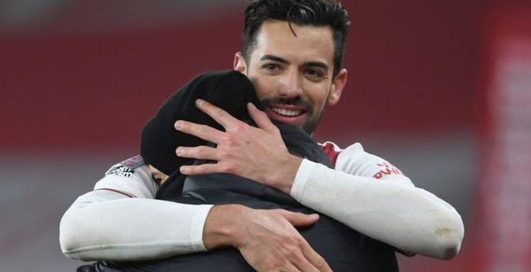 Arsenal stars send messages of support to Gabriel Martinelli after worrying injury update