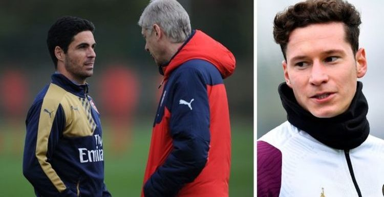 Arsenal icon Arsene Wenger at heart of Mikel Arteta's Julian Draxler transfer decision