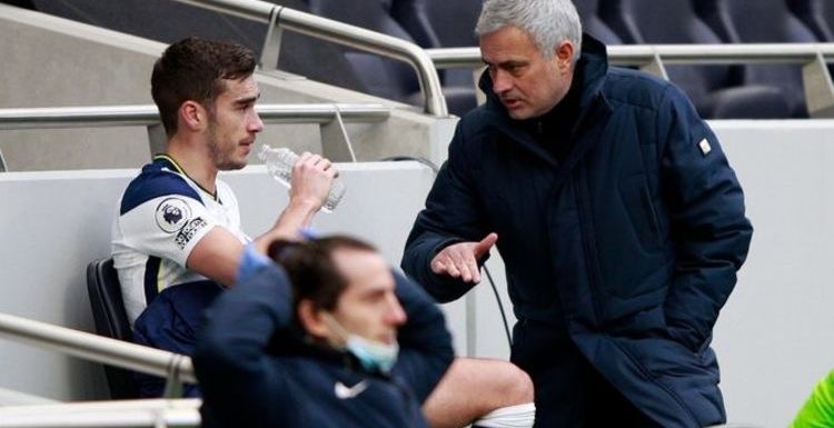 Jose Mourinho delivers final transfer statement on Harry Winks with pointed jab at rumours