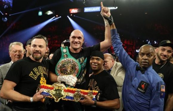 Tyson Fury's trainer predicts when boxing star will knock out Anthony Joshua