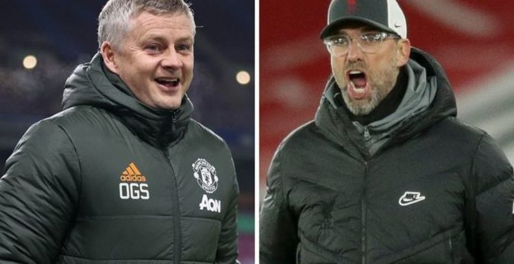 Man Utd have £100m transfer incentive to beat Liverpool to the title ahead of clash
