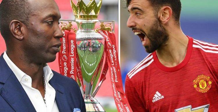 Manchester United hero Dwight Yorke sets Bruno Fernandes Premier League title challenge