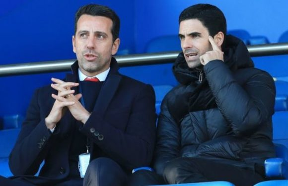 Arsenal boss Mikel Arteta wants Edu to secure transfer for next 'Iniesta' this month