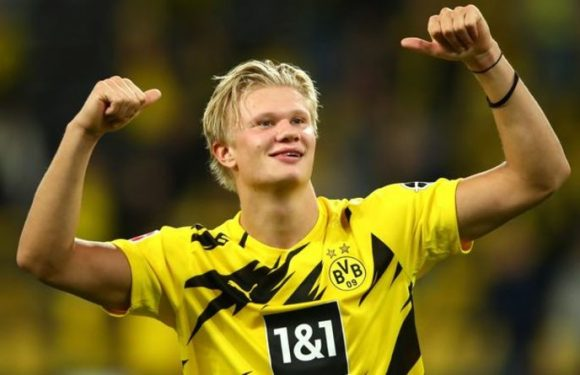 Liverpool, Man Utd and Chelsea target Erling Haaland's market value takes dramatic shift