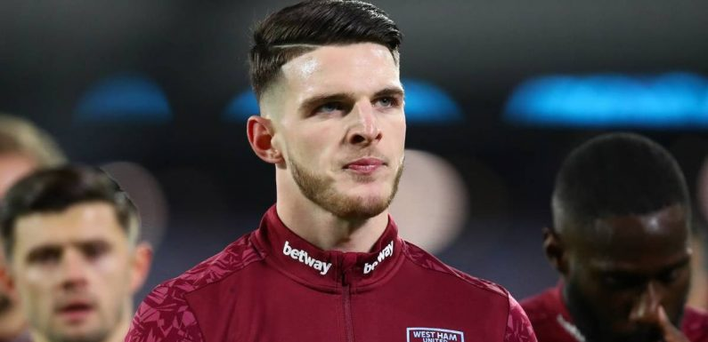 Declan Rice's Man Utd transfer decision makes state-of-play clear for Chelsea