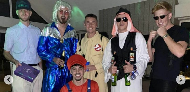 Paul Scholes 'breaks Covid rules again by hosting fancy dress party at mansion'