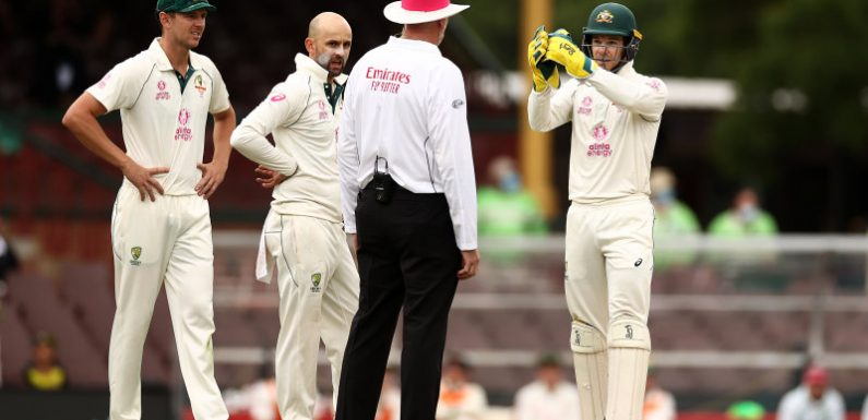 Australia captain Paine cops $3000 fine for tirade against umpire Wilson