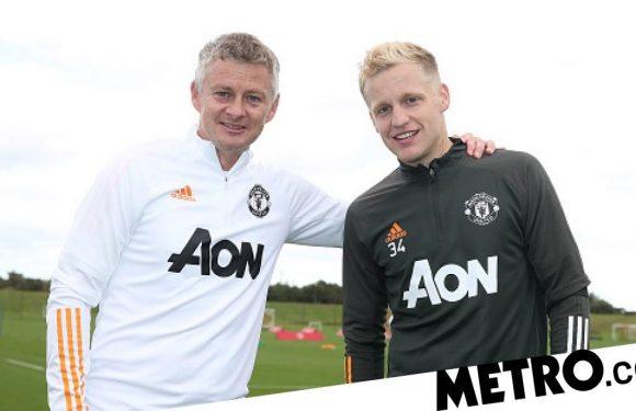 Ole Gunnar Solskjaer admits Donny van de Beek is 'unhappy' at Manchester United