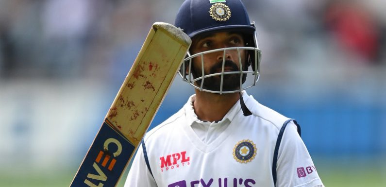 Plans in place: Lyon turns his attention to Rahane
