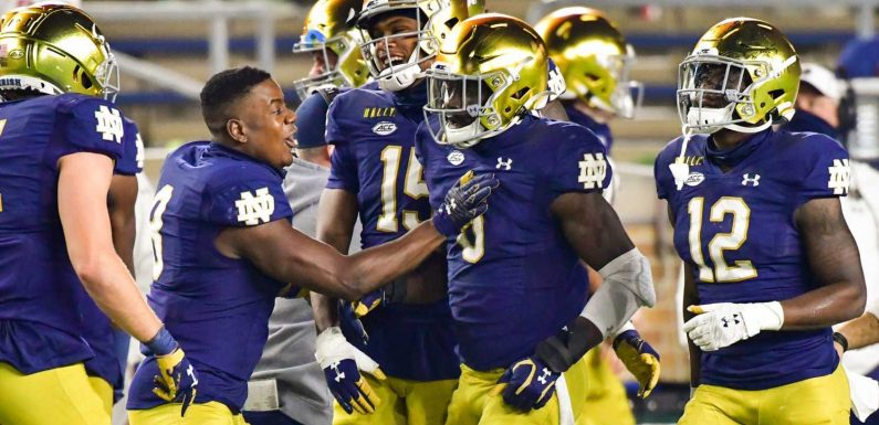 Jeremiah Owusu-Koramoah is the defensive weapon Notre Dame needs against Alabama