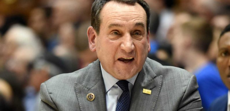 College hoops COVID-19 roundup: Duke coach Mike Krzyzewski out after coronavirus exposure, game with FSU postponed