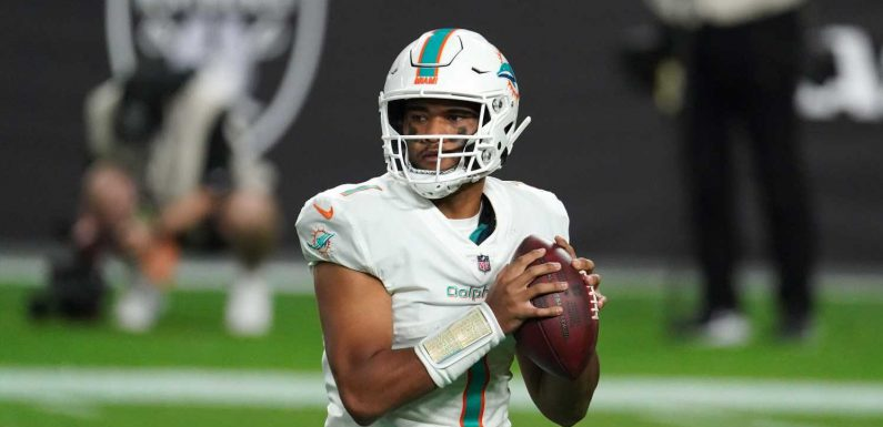 Opinion: Dolphins' Tua Tagovailoa needs to prove himself by getting playoff-clinching victory