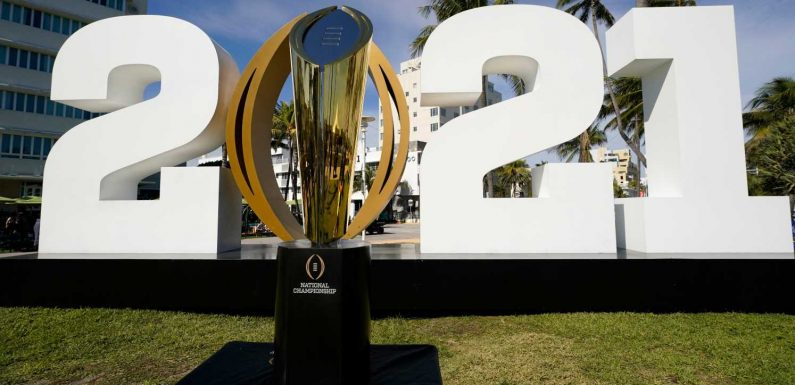 What time is the national championship? TV channel, live stream info Alabama vs. Ohio State in college football title game