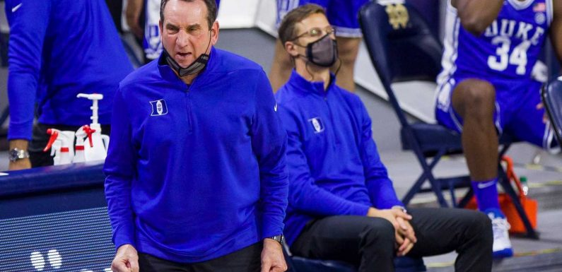 Coach K condemns 'insurrection' at U.S. Capitol in blistering comments on riot fueled by Trump supporters