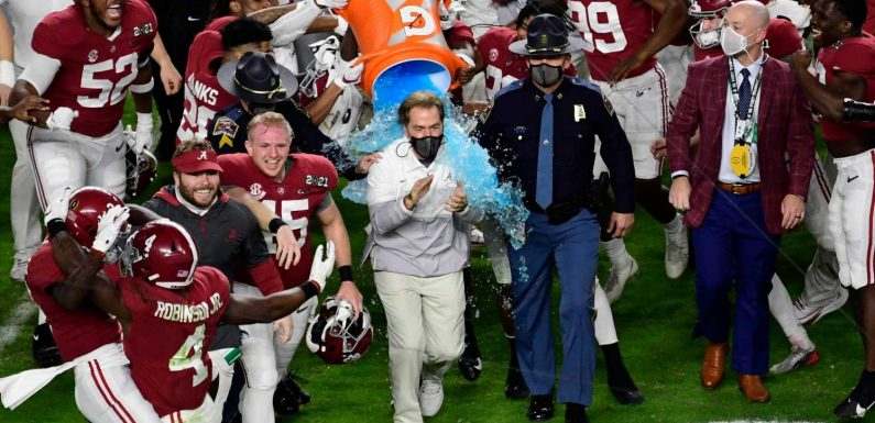 How to break up Nick Saban's monopoly at Alabama to improve college football