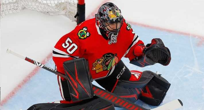Two-time Stanley Cup winning goalie Corey Crawford announces retirement