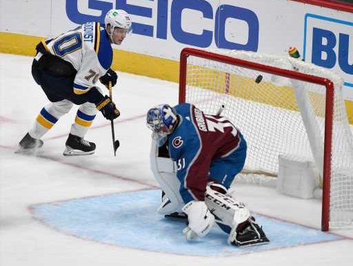 Avalanche loses to St. Louis Blues, drops first game of season at Ball Arena – The Denver Post
