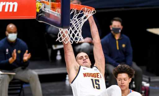 Nikola Jokic couldn't define an MVP, so his Nuggets teammates did it for him