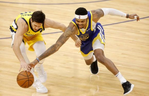 NBA: Pacers overtake Warriors in fourth quarter