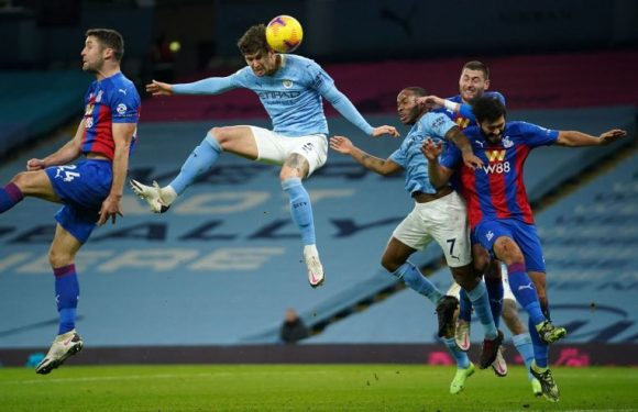 Football: Stones scores twice as Man City cruise past Palace
