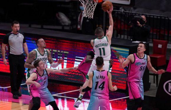NBA: Celtics stun Heat on last-second putback; hot-shooting Bucks too much for Pistons
