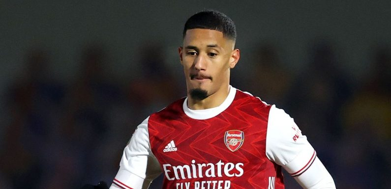 Saliba's message to Smith Rowe speaks volumes about on-loan Arsenal star