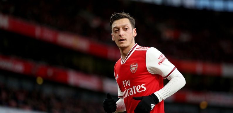 Mesut Ozil names best XI from his time at Arsenal including notable outcast